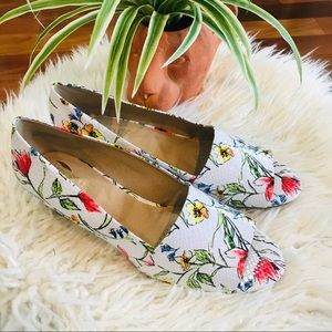 New🌿Comfort Cork Wedge Floral